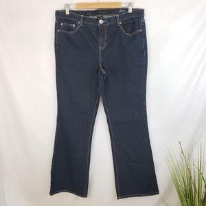 Calvin Klein Darkwash Flare Jeans Size 16